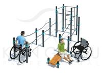 Спортивная площадка для инвалидов.