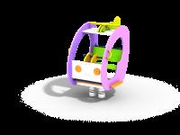 Качалка на пружине Вертолёт