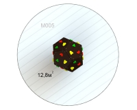 Куб M 005