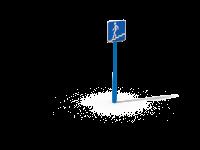Знак Подземный пешеходный переход