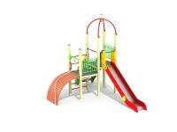 Детский игровой комплекс Горка с трапом