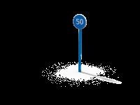 Знак Ограничение минимальной скорости