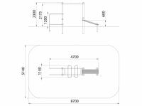 Рукоход с брусьями (ATRIX-GYM 26)