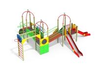 Детский игровой комплекс Топотушки со щитом
