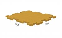Rubblex Puzzle С Т-образным замком 1000х1000мм
