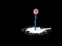Знак Движение на лево запрещено