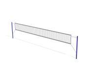 Стойки волейбольные (комплект) без сетки