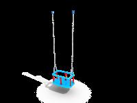 Подвес резиновый на цепи (люлька)