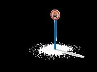 Знак Движение ТС с взрывчатыми легковоспламеняемыми грузами запрещено