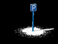 Знак Зона парковочного места