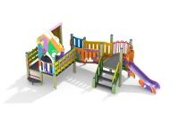 Детский игровой комплекс Пасека граффити