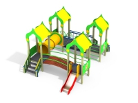 Детский игровой комплекс Лесная сказка