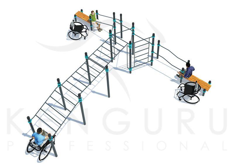 P-025. Комплекс для инвалидов-колясочников MEGA+