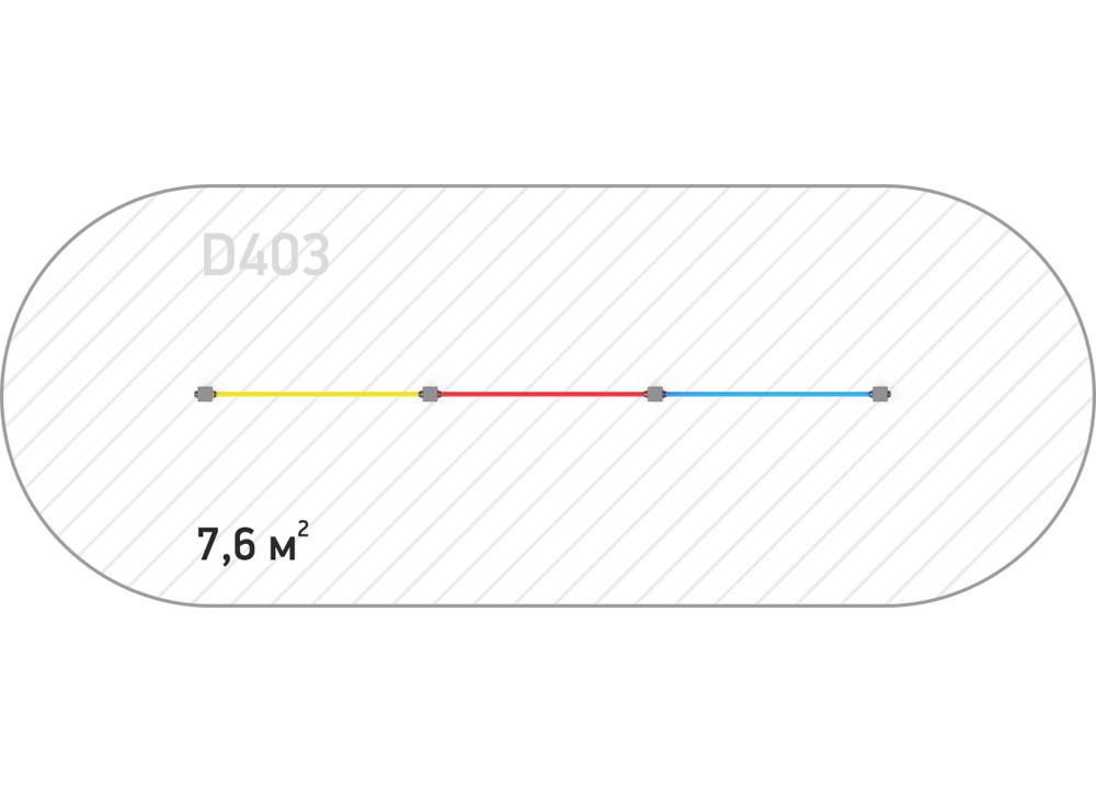 Турник D 403