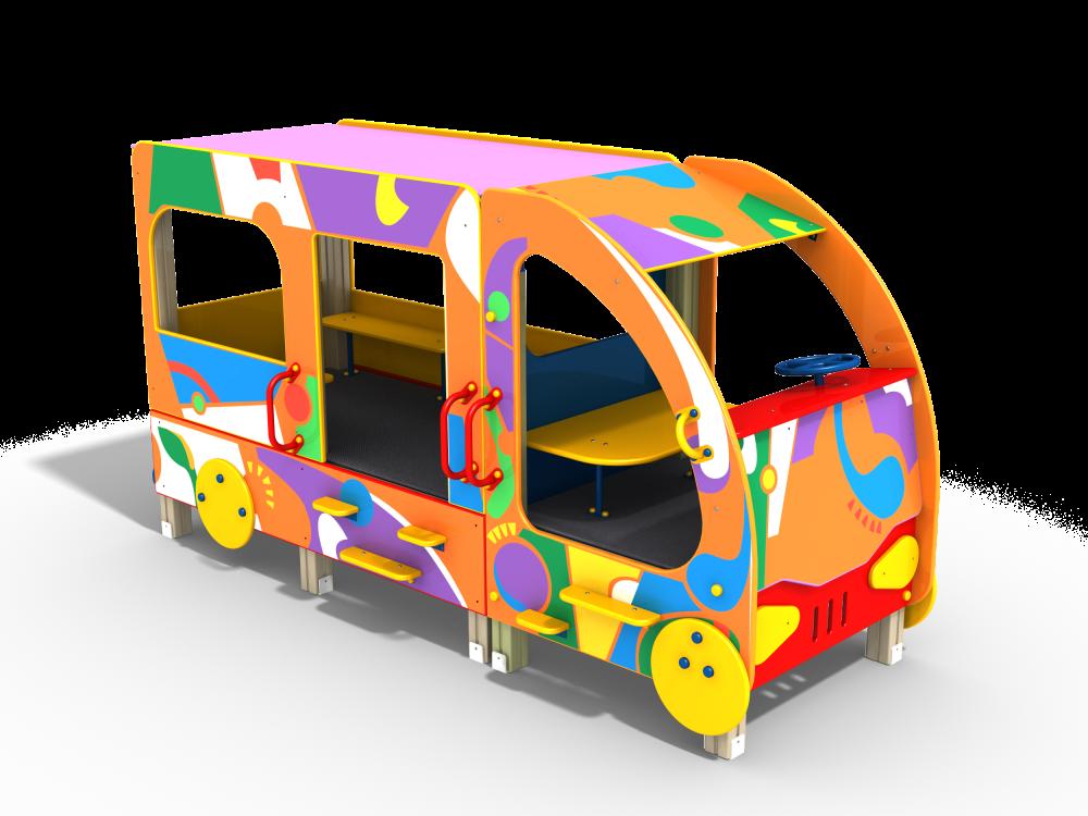 Автобус Граффити