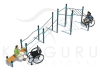 P-021. Комплекс для инвалидов колясочников Long