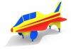 Лавочка со спинкой Самолет