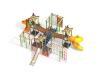 Детский игровой комплекс граффити Прибрежный c горкой трубой прозрачной