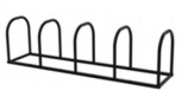 Велопарковка на 4 дуги