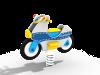 Качалка на пружине Мотоцикл ДПС