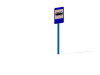Знак Остановочный пункт автобуса